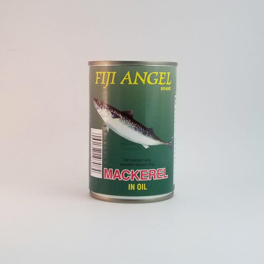 Fiji Angel Mackerel in Oil