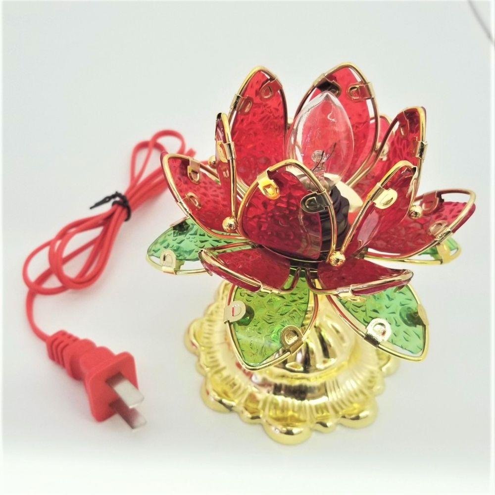 Red Rose Lamp Light