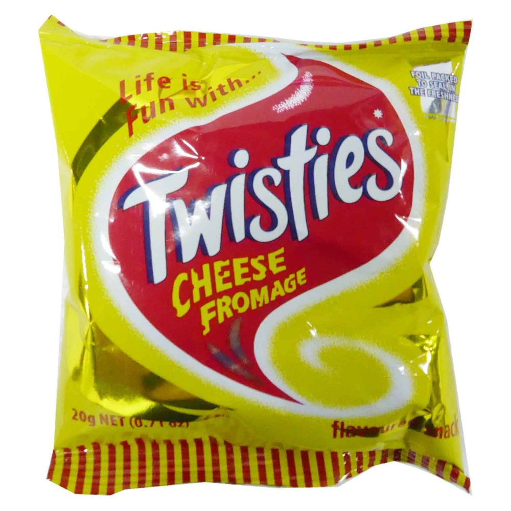 Twisties Cheese