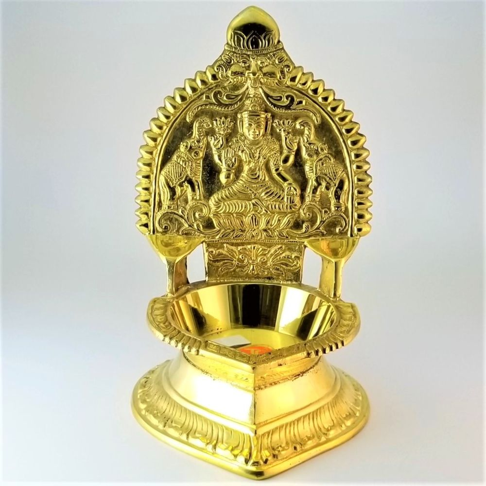 Brass Lakshmi Diya