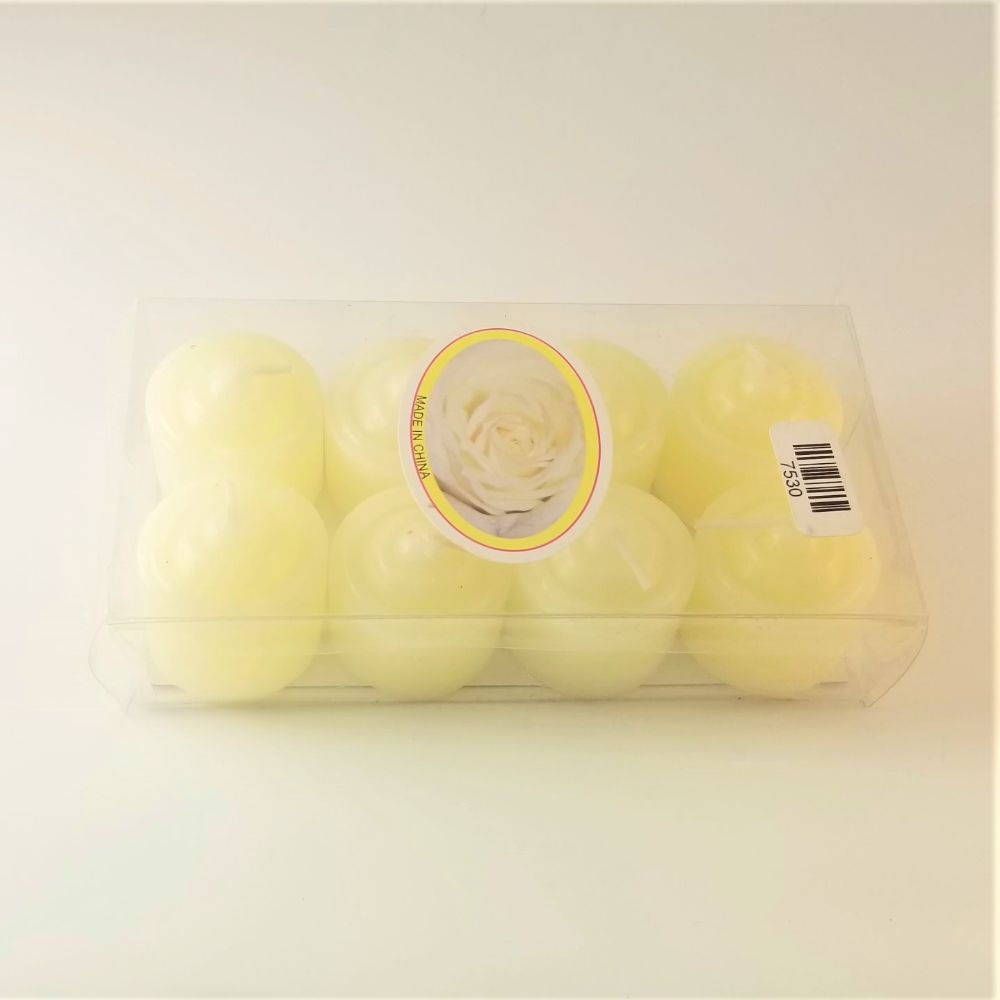 Scented Candles - 8 Pack