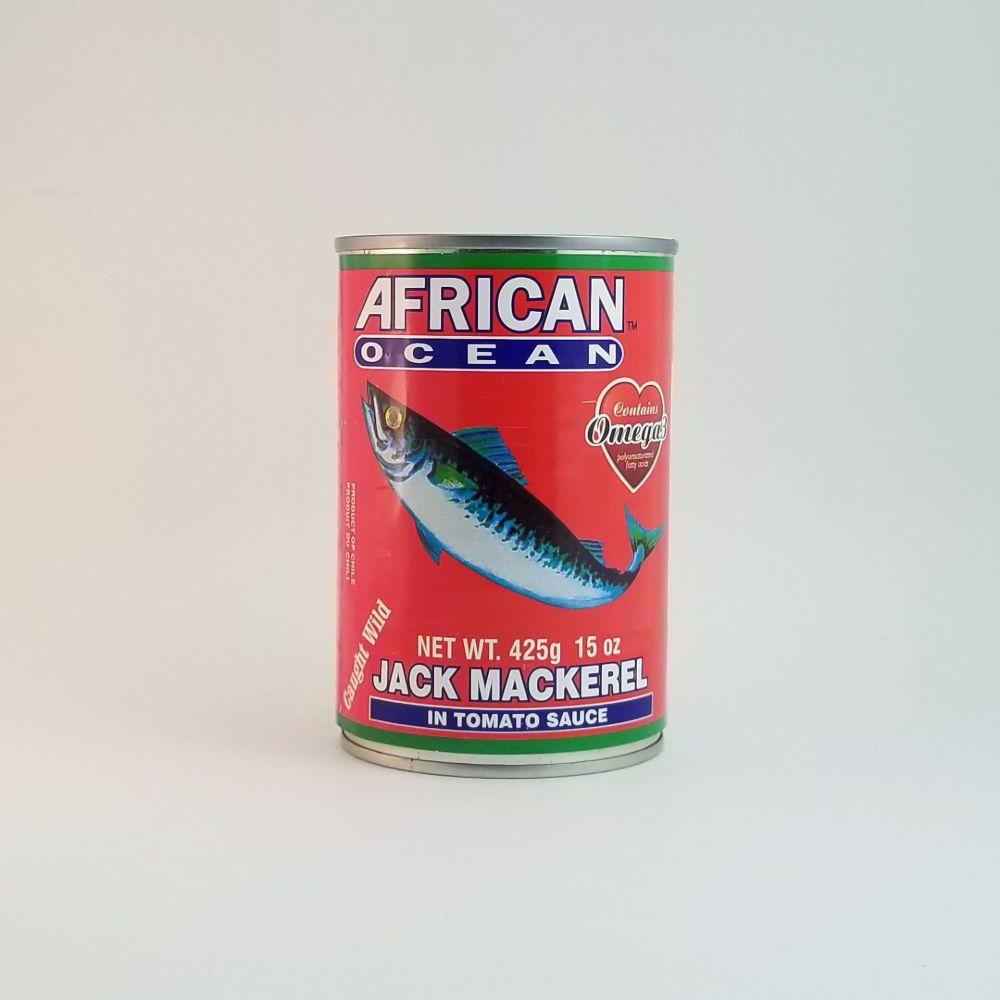 African Ocean Jack Mackerel in Tomato Sauce