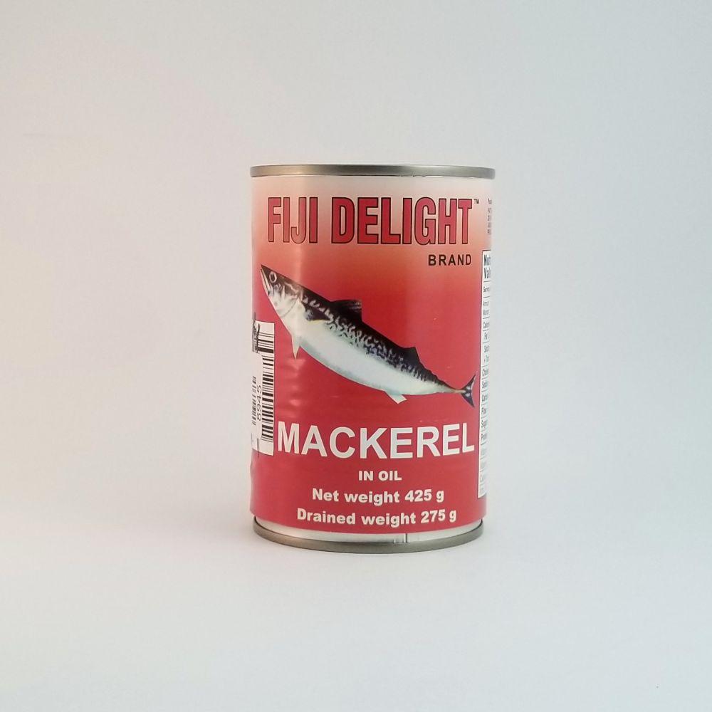 Fiji Delight Mackerel in Oil