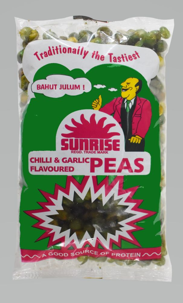 Chilli Garlic Peas - Sunrise