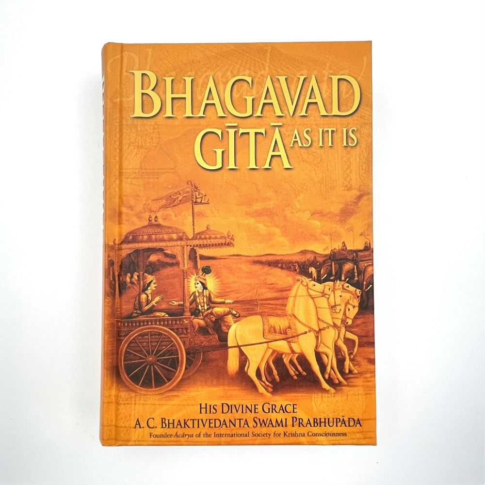Shrimad Bhagavad Gita (Eng & Sans) - Hard Cover