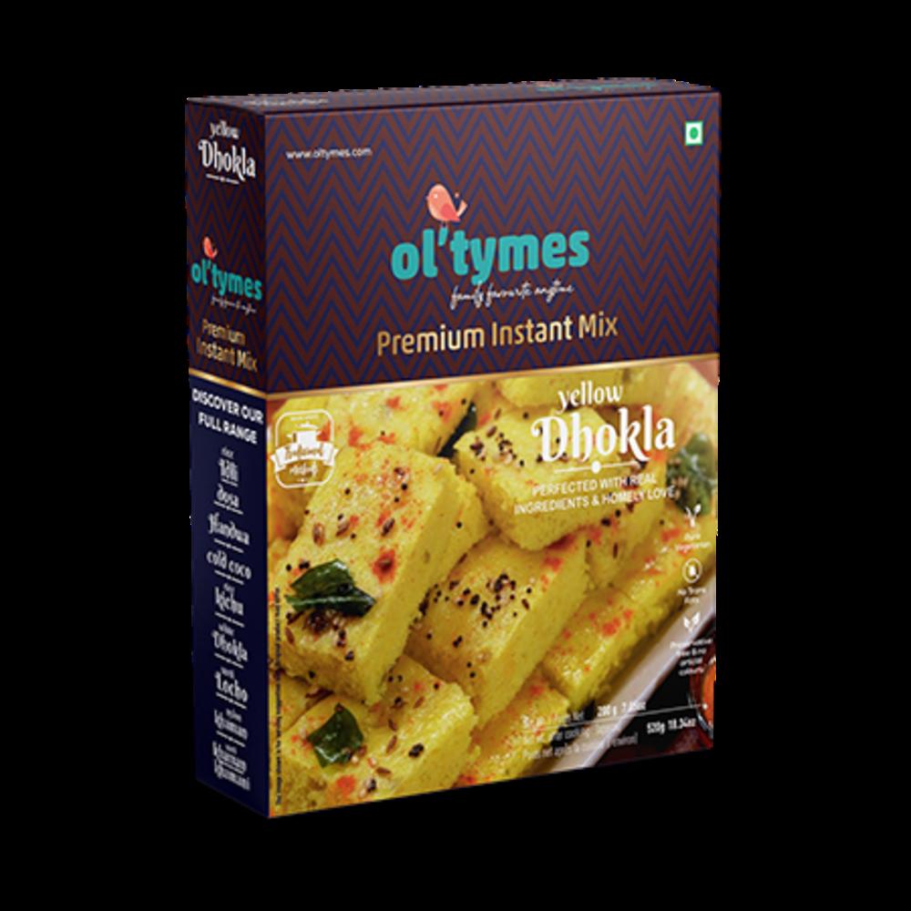 ol'tymes Premium Instant Yellow Dhokla Mix
