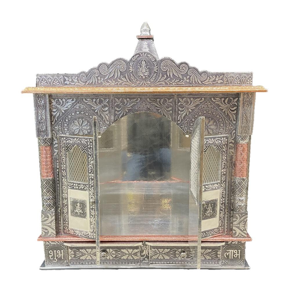 Temple (Mandir) - Silver w/ Copper Trim